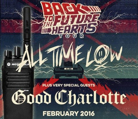 Good Charlotte Hire Radios For UK Tour featured image