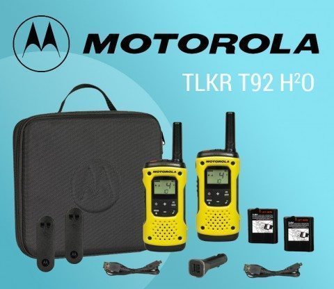 Motorola TLKR T92 H²O Twin Pack – designed for durability featured image