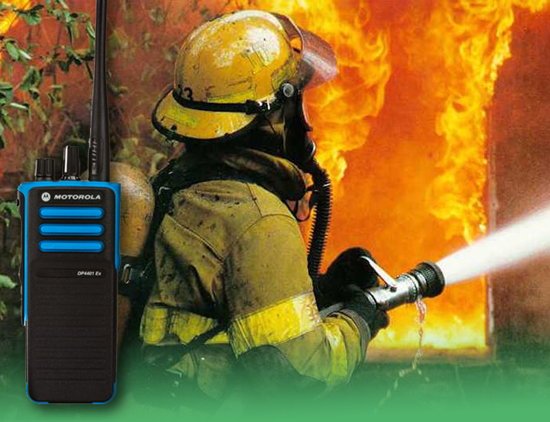 Fire Communications Two Way Radios