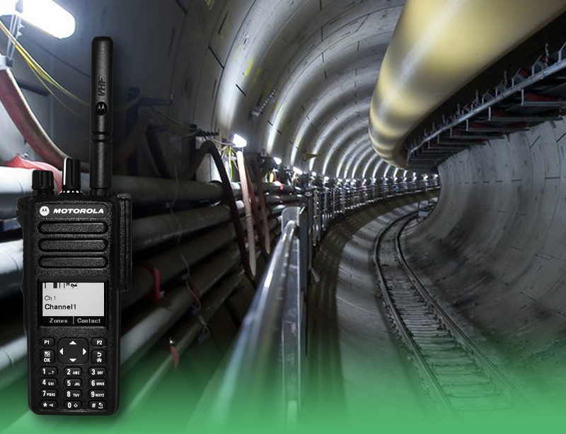 Two Way Radio Tunnel Communications