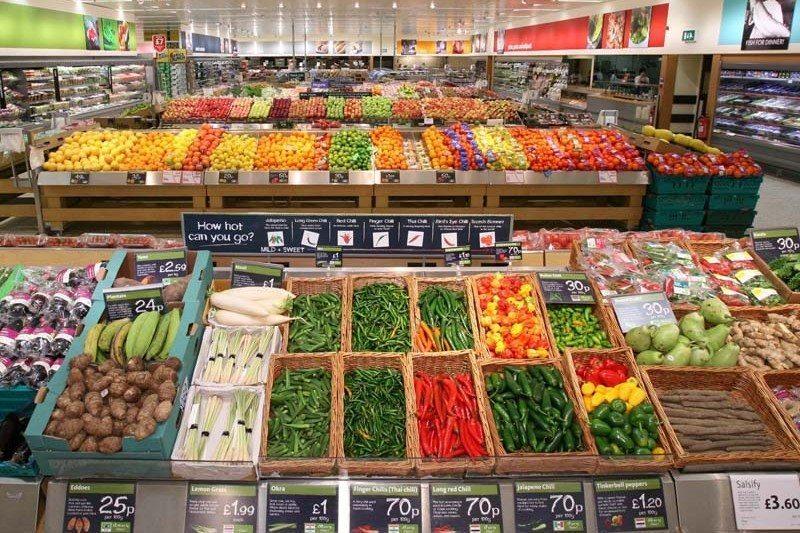 Morrisions Vegtables