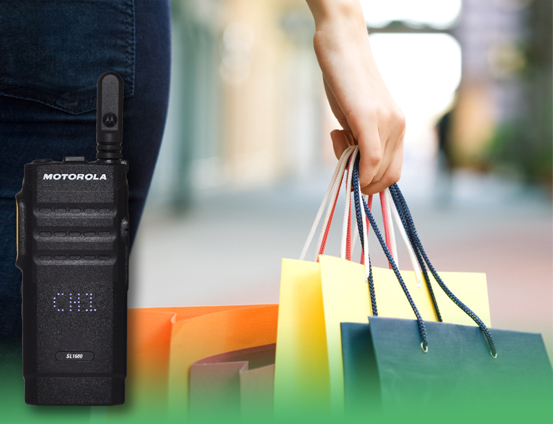 Two Way Radio Communications for Retail