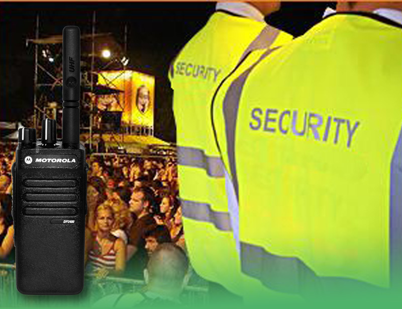 Two Way Radios for Security Control