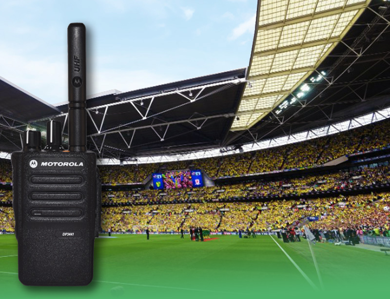 Two Way Radios for Sports and Stadia