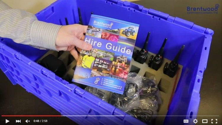 Brentwood Communications Two Way Radio Hire featured image
