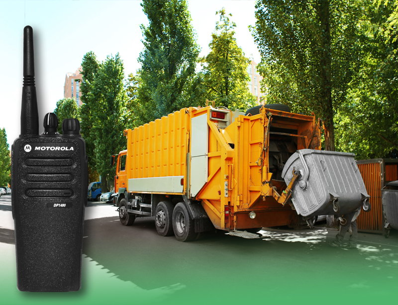 Two Way Radios Waste Management