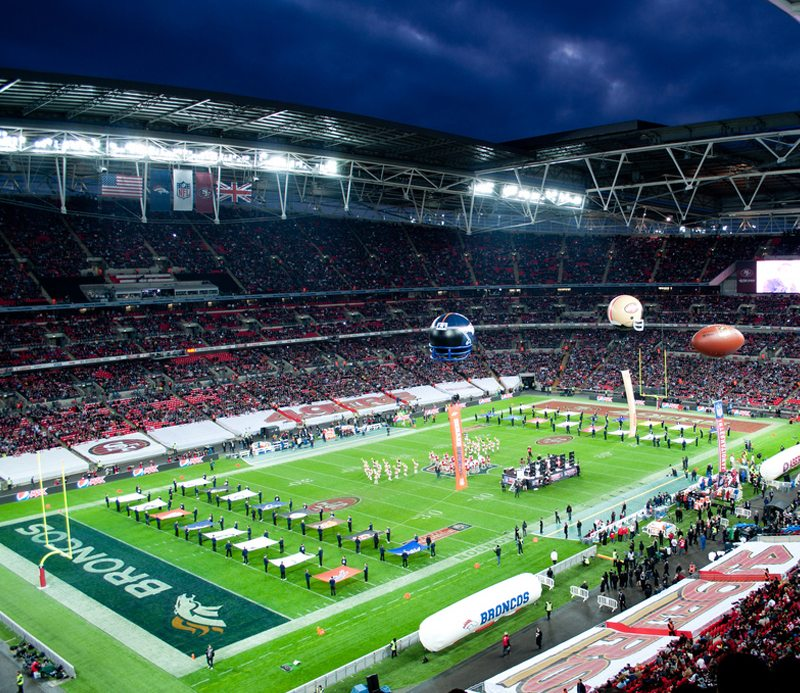 Wembley Stadium Hire Radios for American Football Game featured image
