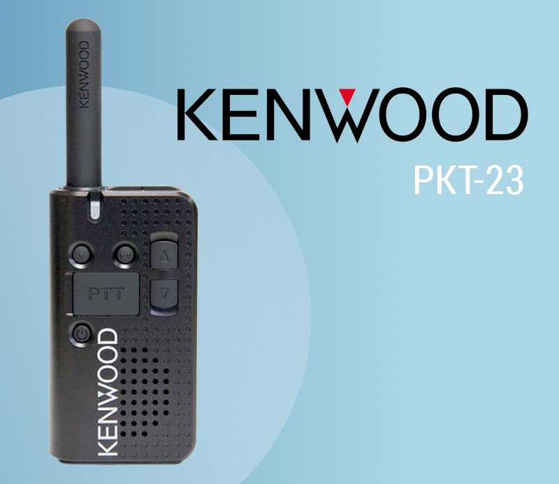 The Kenwood PKT-23 is a modern, affordable license free two way radio featured image
