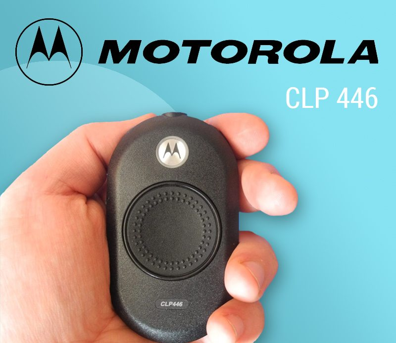 Motorola CLP446 – an evolution in two way radios, helping your staff to keep in touch with both convenience and style. featured image