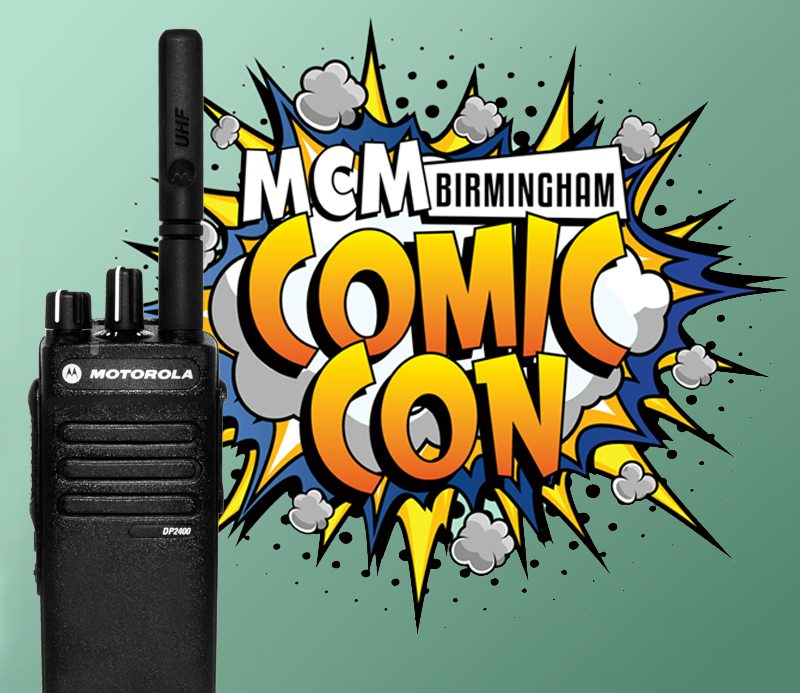 MCM Expo Hire Two Way Radios For Birmingham Comic Con featured image