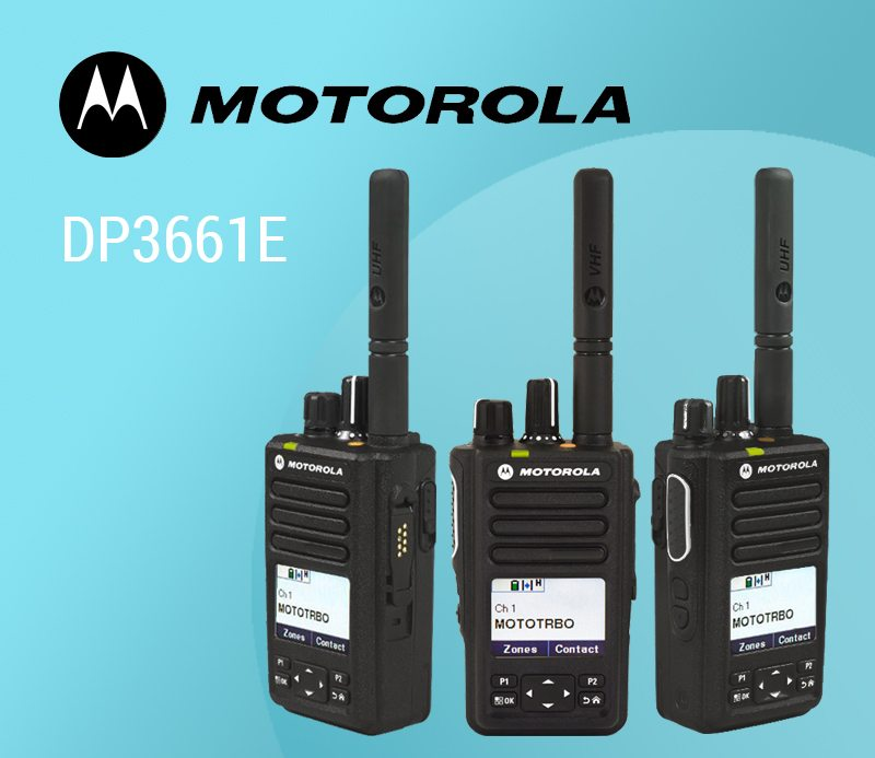 The Motorola DP3661e: Top Tier Two Way Radio in Compact Form featured image