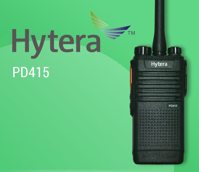 Hytera PD415: Patrol Radio with Advanced Data Tracking Capabilities featured image
