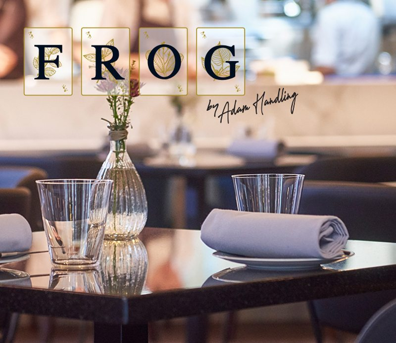 Cooking Up A Storm with Frog by Adam Handling featured image