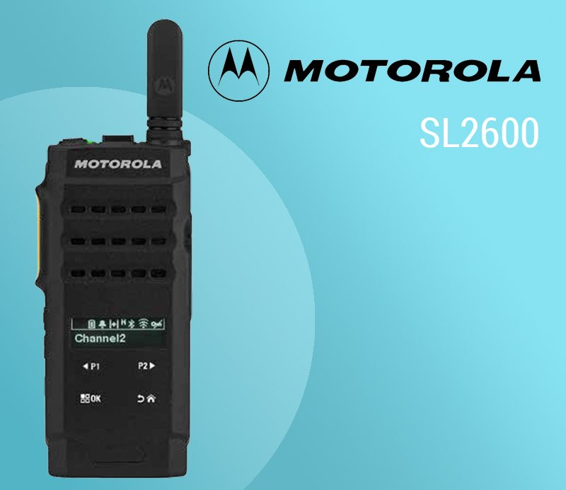 Motorola MOTOTRBO SL2600: Quality Communications With a Classy Look featured image