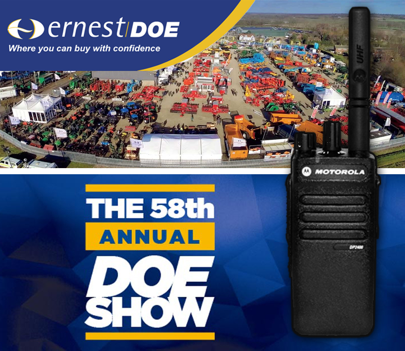 58th Year of the Doe Show Requires Radios for Smooth Operation featured image