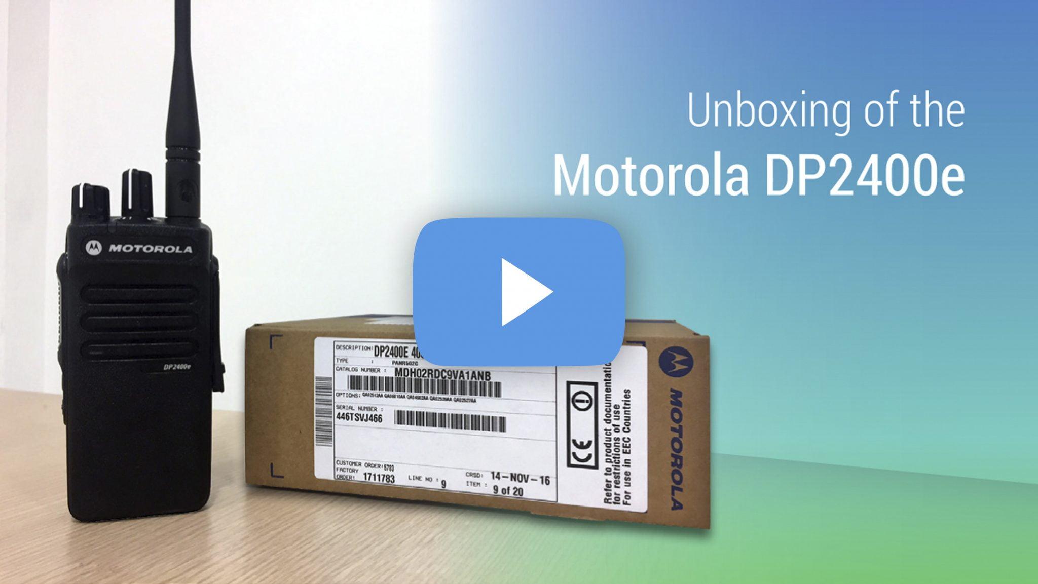 Motorola DP2400e | Brentwood Communications