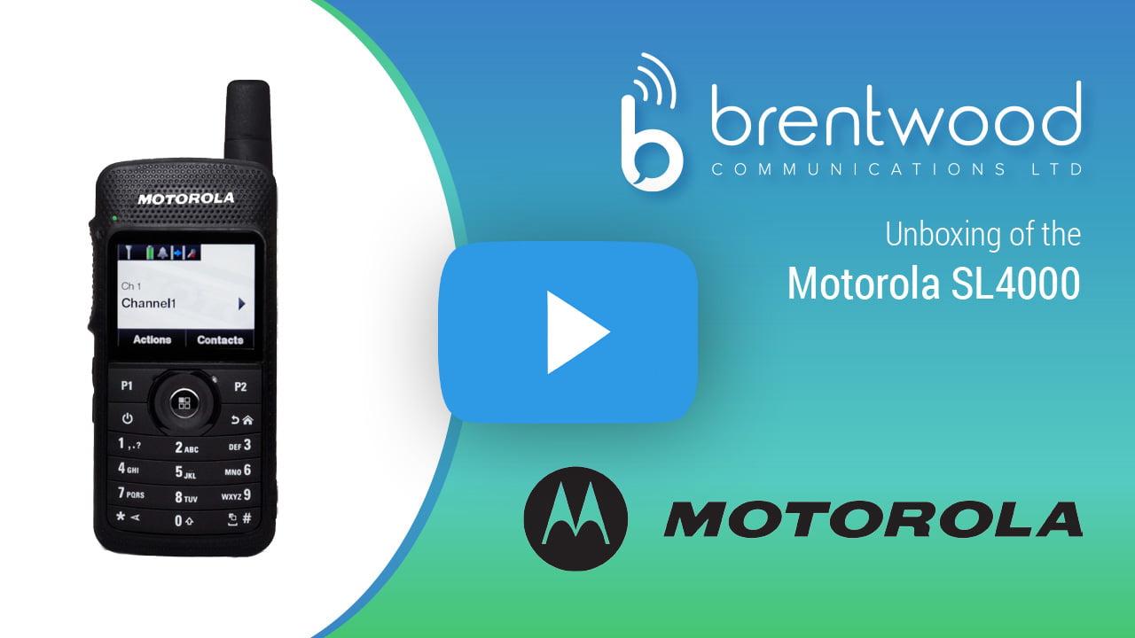 Motorola SL4000e | Brentwood Communications