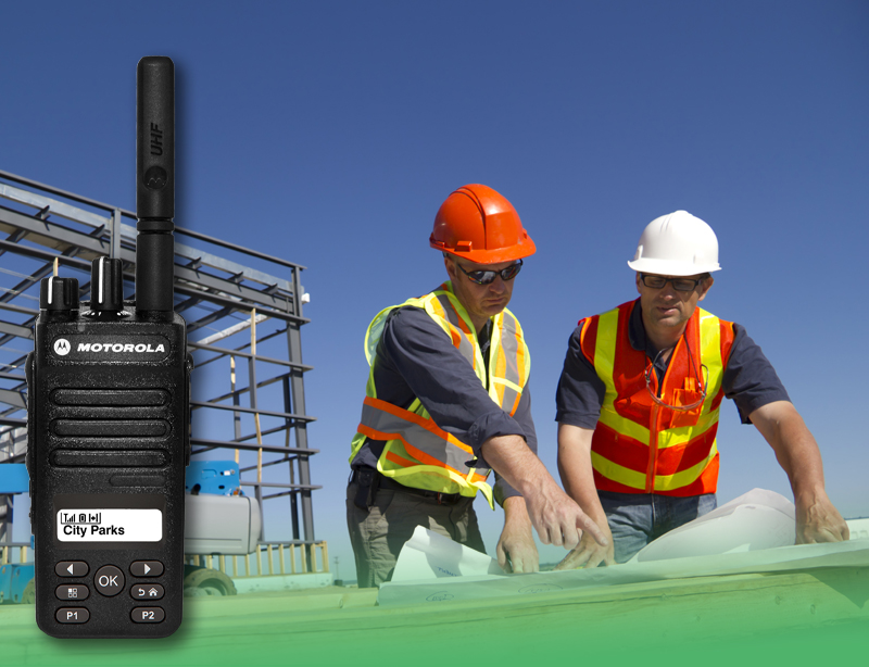 Radios for Construction