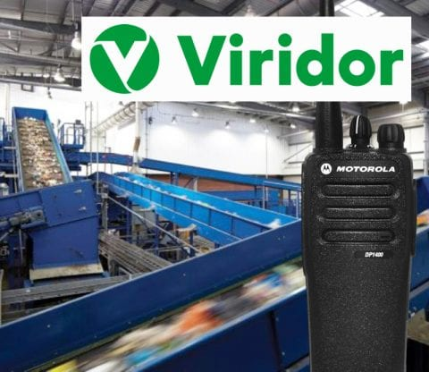 Revamped Radio for Recycling Facility featured image