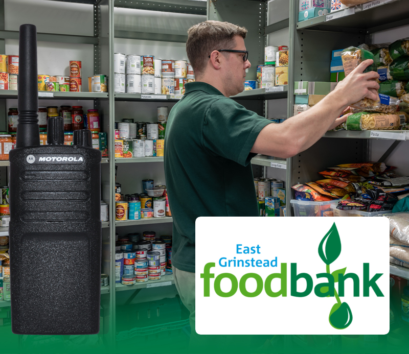 Food Charity Reaches Out With New Two Way Radios featured image