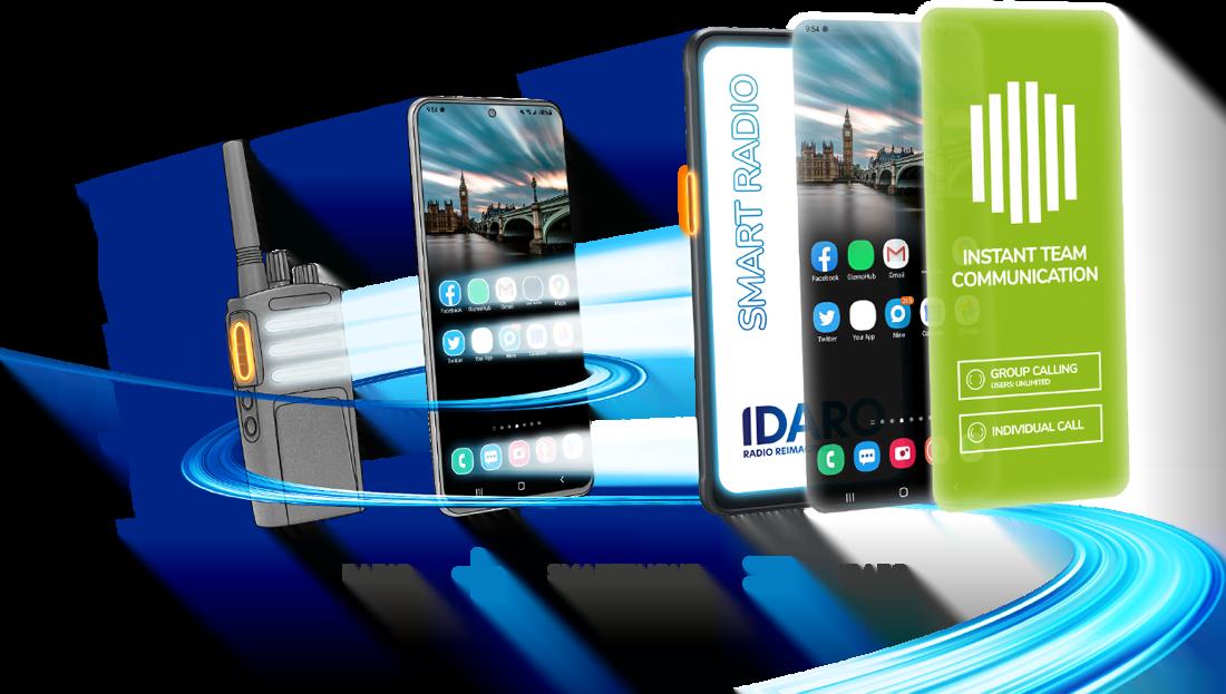 IDARO - Radio + Smartphone = Smart Radio
